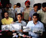 Punjab police arrest two alleged terrorists