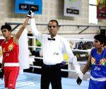 Khelo India School Games - 46kg category girls boxing - Ekta Saroj Vs Bharti