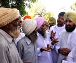 Partap Singh Bajwa visited the flood affected villages of Muktsar and Faridkot districts