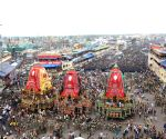 Lakhs throng Puri to witness annual Rath Yatra