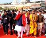 Shah offers prayers at Odisha temples