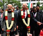 Putrajaya (Malaysia): Modi at the Torana Gate inauguration ceremony