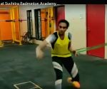 Exhausted just watching this: Mahindra on Sindhu fitness regime