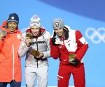OLY-SOUTH KOREA-PYEONGCHANG-NORDIC COMBINED-INDIVIDUAL GUNDERSEN NH/10KM-MEDAL CEREMONY