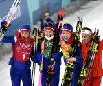 OLY SOUTH KOREA PYEONGCHANG CROSS COUNTRY SKIING LADIES' 4X5KM RELAY