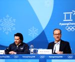 OLY-SOUTH KOREA-PYEONGCHANG-IOC SESSION PRESS BRIEFING
