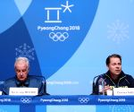 OLY SOUTH KOREA PYEONGCHANG WADA PRESS CONFERENCE
