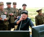 This undated photo released by Democratic People's Republic of Korea (DPRK) 's official Korean Central News Agency (KCNA)