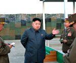 Kim Jong Un KPA Drill