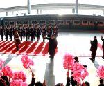 DPRK PYONGYANG KIM JONG UN U.S. SUMMIT DEPARTURE