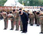 DPRK-KIM JONG UN-FATHERLAND LIBERATION WAR MARTYRS CEMETERY-VISIT