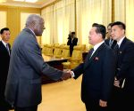 WORLD SECTION?DPRK PYONGYANG CHOE RYONG HAE MEETING FIRST ENVOY CUBA