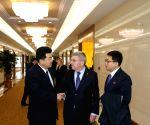 DPRK PYONGYANG IOC PRESIDENT VISIT