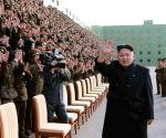 Pyongyang (North Korea): Kim Jong Un at Korean People's Army Meet