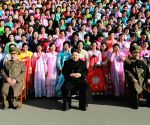 Pyongyang : Second Meeting of KPA Exemplary Servicemen's Families
