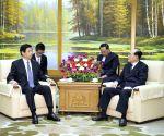 DPRK PYONGYANG LI ZHANSHU VISIT