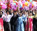 DPRK PYONGYANG 70TH ANNIVERSARY PARADE