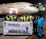 Free Photo:   Qatar Airways, Etihad resume flights to Hyderabad
