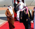 Qatar's Emir in Saudi Arabia for official visit