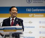 China's candidate elected FAO head after India backs out