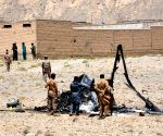 PAKISTAN QUETTA ARMY HELICOPTER CRASH