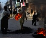Quetta (Pakistan): Country-wide strike on the killing of JUI-F leader Khalid Mahmood Soomro