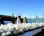 Quetta (Pakistan): Frontier Corps recovered huge quantities of explosive materials,