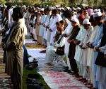 PAKISTAN QUETTA EID AL ADHA PRAYER