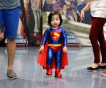 PHILIPPINES-QUEZON CITY-SUPER HERO WORLD RECORD EVENT