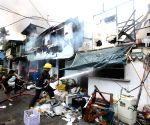 PHILIPPINES-QUEZON CITY-SLUM FIRE