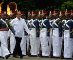 PHILIPPINES QUEZON CITY PRESIDENT AFP TESTIMONIAL PARADE