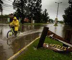 heavy rain in Quilmes