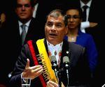 ECUADOR QUITO POLITICS CORREA REPORT