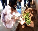 Raashi Khanna planted saplings today on the occasion of her birthday