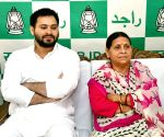 Rabri Devi, Tejashwi to meet Lalu Prasad in Ranchi