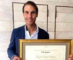 Rafa becomes 'adopted son' of flood-ravaged Spanish town