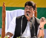 Raja Bhaiyya announces new political party