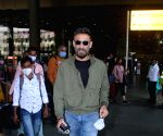 Rahul Dev spotted at airport arrival on Monday 08th March, 2021