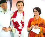 Free photo : Rahul Priyanka with Allu Miyan