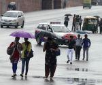 Rains lash Delhi -