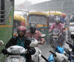 Rains lash Delhi