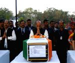 Rajnath Singh pays tribute to CRPF troopers gunned down by