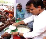 Rajanna Sircilla (Telangana): KT Rama Rao launches 'Rs 5 Annapurna Bhojanam scheme