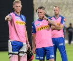 Rajasthan Royals - practice session