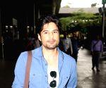 Rajeev Khandelwal at Airport