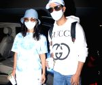 Rajkummar Rao & Patralekha Spotted at Airport Arrival