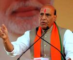 Rajnath strongly rebukes politics of communalism