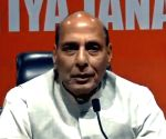 Don't politicise national security matters, Rajnath to Oppn