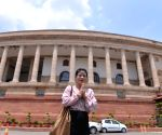 MC Mary Kom at Parliament