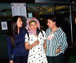 Rakhi Sawant, Sambhavna Seth & Kashmira Shah Spotted AtHospital in Juhu